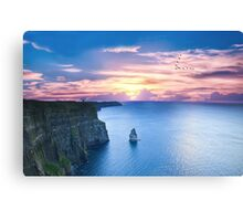 Cliffs of Moher Co Clare, Ireland Canvas Print