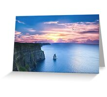 Cliffs of Moher Co Clare, Ireland Greeting Card