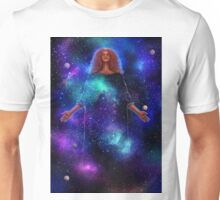 Goddess of Galaxies Unisex T-Shirt