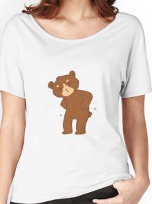 the dancing bear Women's Relaxed Fit T-Shirt