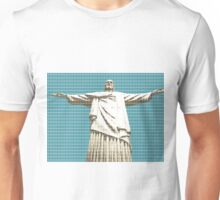 Christ The Redeemer - Dark Blue Unisex T-Shirt