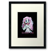 Spookypie Dolls Lollipop Framed Print
