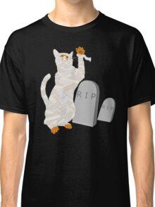 Giant Mummy Cat Monster Cute Horror Cartoon Classic T-Shirt