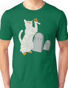 Giant Mummy Cat Monster Cute Horror Cartoon Unisex T-Shirt
