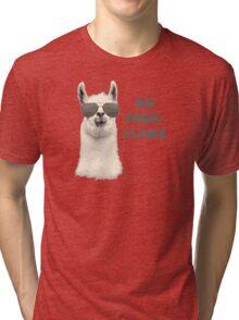 No Problem Llama Tri-blend T-Shirt