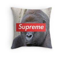 Supreme Harambe pt 2 Throw Pillow