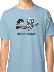 Steely Brown Classic T-Shirt