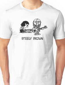 Steely Brown Unisex T-Shirt