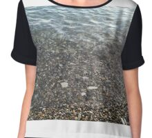 The Black Sea Chiffon Top