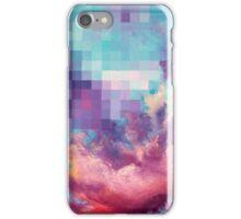 Pixel Clouds iPhone Case/Skin
