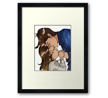 To KB :  For always and more. Framed Print