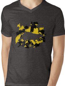 Hufflepuff Pride Mens V-Neck T-Shirt