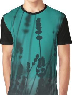 Lavender Silhouette Graphic T-Shirt