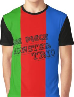 One Piece Monster Trio Graphic T-Shirt