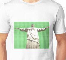 Christ The Redeemer - Green Unisex T-Shirt