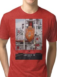 The Lifeboat, Jaynee W Tri-blend T-Shirt