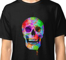 Splash Art Skull (Original) Classic T-Shirt
