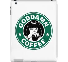 Goddamn Coffee iPad Case/Skin