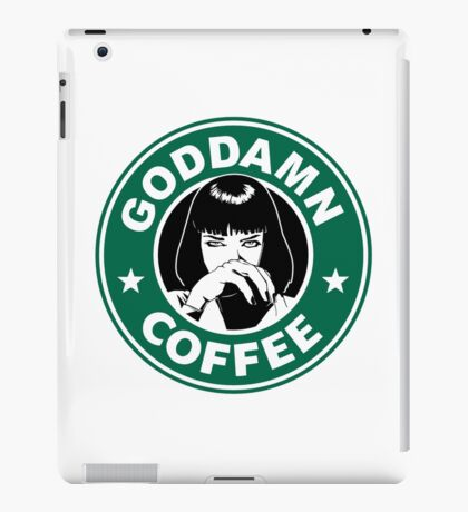 Goddamn Coffee iPad Case/Skin