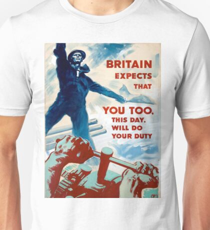 Vintage poster - Do Your Duty Unisex T-Shirt