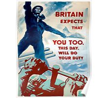 Vintage poster - Do Your Duty Poster