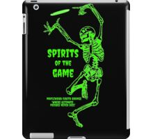 Spirits of the Game - Maplewood South Orange Ultimate Frisbee Tournament iPad Case/Skin