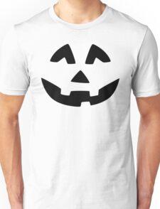 Cute Jack O'Lantern Face Unisex T-Shirt