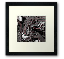 Metro - Project Chipset Framed Print