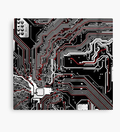 Metro - Project Chipset Canvas Print