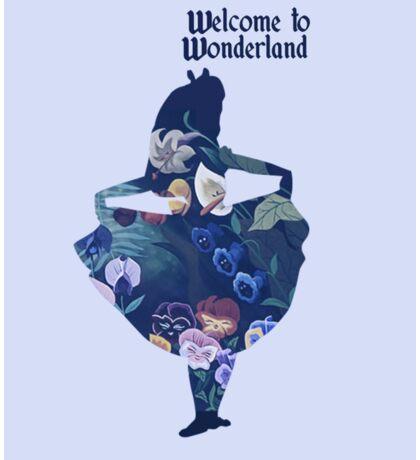 Welcome to Wonderland - Blue Sticker