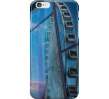 Liverpool wheel reflections iPhone Case/Skin
