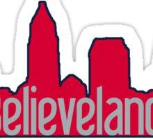 Believeland Cleveland Indians 2016 Sticker