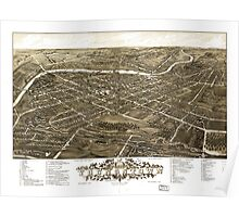 Panoramic View of Youngstown, Ohio (1882) Poster