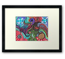The New Age... Framed Print
