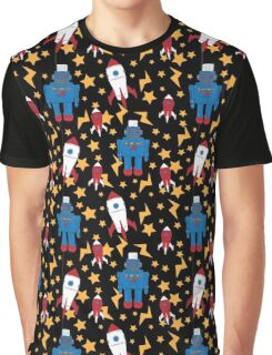 Rockets and robots Graphic T-Shirt