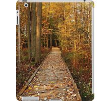 Fall Walk iPad Case/Skin