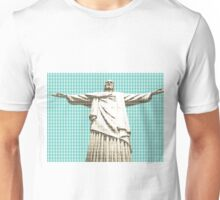 Christ The Redeemer - Light Blue Unisex T-Shirt
