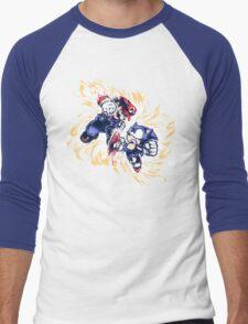 16 Bit Battle Men's Baseball ¾ T-Shirt