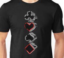 Card Suits Unisex T-Shirt