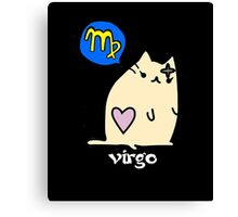 Virgo T-shirt Canvas Print