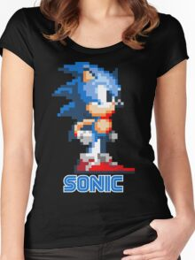 Sonic the Hedgehog 16 bit Women's Fitted Scoop T-Shirt