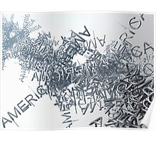 Streaming America Text Poster