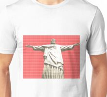 Christ the Redeemer - Red Unisex T-Shirt