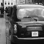 Black cabs at Marylebone Station by joelmeadows1