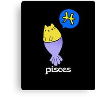 Pisces T-shirt Canvas Print