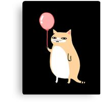 Cute cat T-shirts Canvas Print