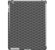 Playstation Buttons - White on Black iPad Case/Skin