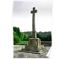 War Memorial, Duffield Poster