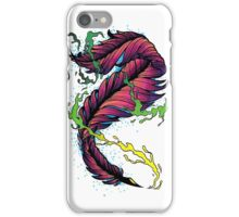 Ink Flow Feather Pen iPhone Case/Skin