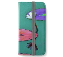 Waterlily reflections iPhone Wallet/Case/Skin